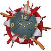 """Часы настенные Tiarella """"Взрыв"""""""