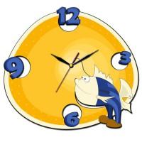 """Часы настенные Tiarella """"Рыбка"""""""