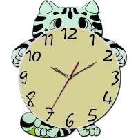 """Часы настенные Tiarella """"Смешной котёнок"""""""