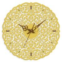 """Настенные часы из металла Tiarella """"Восток"""""""