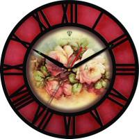 """Настенные часы Tiarella """"Розарий"""""""