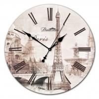 """Настенные часы  Династия 02-008 """"Париж 1"""""""
