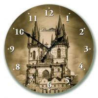 Настенные часы из стекла Династия 01-050