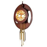 Настенные часы с маятником Sinix 2101 GA