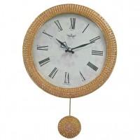 Часы настенные с маятником B&S SA-2302 M PINK