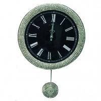 Часы настенные с маятником B&S SA-2302 M BLACK.