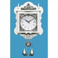 Часы настенные с маятником SINIX 2145W