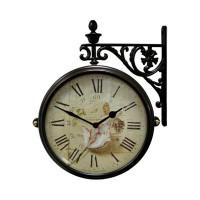 Часы двусторонние на подвесе B&S M195 BR-F9