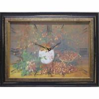 Часы-картины Династия 04-003-12  Шиповник
