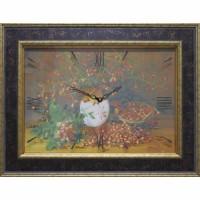 Часы-картины Династия 04-003-13  Шиповник
