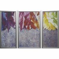 Модульная картина Династия 06-010-01 Радуга из листьев