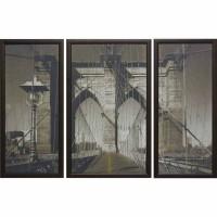 Модульная картина Династия 06-018-01 Бруклинский мост
