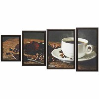 Модульная картина Династия 06-052-04 Ароматный кофе