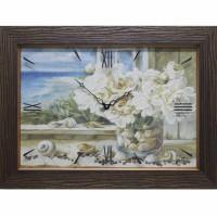 Часы картины Династия 04-007-05 Морской натюрморт
