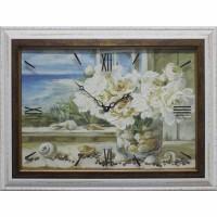 Часы картины Династия 04-007-11 Морской натюрморт