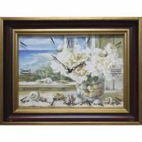Часы картины Династия 04-007-14 Морской натюрморт