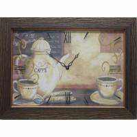 Часы картины Династия 04-008-05 Кофе