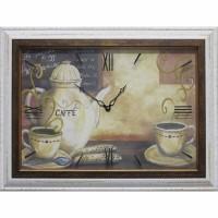 Часы картины Династия 04-008-11 Кофе