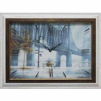 Часы картины Династия 04-009-11 Дождь