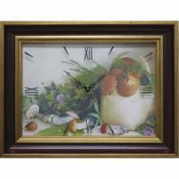 Часы картины Династия 04-010-14 Грибы
