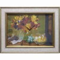 Часы картины Династия 04-012-06 Осенний букет