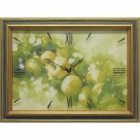 Часы картины Династия 04-015-01 Яблоки