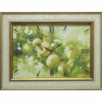 Часы картины Династия 04-015-06 Яблоки