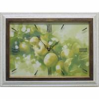 Часы картины Династия 04-015-11 Яблоки