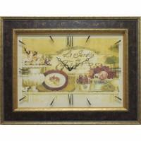 Часы картины Династия 04-017-13 Натюрморт