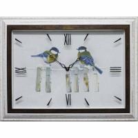 Часы картины Династия 04-020-11 Синицы