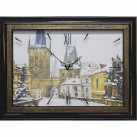 Часы картины Династия 04-031-12 Прага