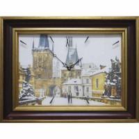 Часы картины Династия 04-031-14 Прага