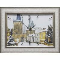 Часы картины Династия 04-031-15 Прага