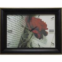 Часы картины Династия 04-034-02 Роза