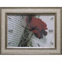 Часы картины Династия 04-034-15 Роза