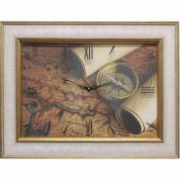 Часы картины Династия 04-035-06 Старинная карта
