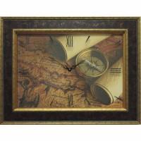 Часы картины Династия 04-035-13 Старинная карта