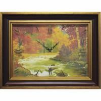 Часы картины Династия 04-036-14 Осенний лес