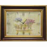 Часы картины Династия 04-038-14 Нежность