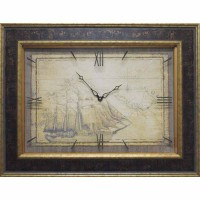 Часы картины Династия 04-043-13 Старый корабль