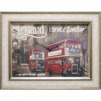 Часы картины Династия 04-044-15 Лондон