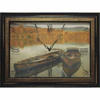Часы картины Династия 04-045-12 Лодки