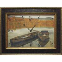 Часы картины Династия 04-045-13 Лодки
