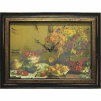 Часы картины Династия 04-048-12 Осенний натюрморт