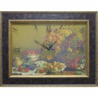 Часы картины Династия 04-048-13 Осенний натюрморт