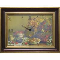 Часы картины Династия 04-048-14 Осенний натюрморт