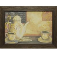 Часы картины Династия 05-003-05 За чашечкой кофе