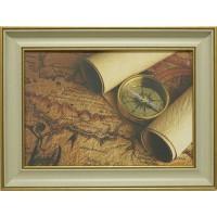 Часы картины Династия 05-005-03 Остров сокровищ