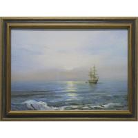 Часы картины Династия 05-006-01 Поднять паруса