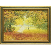 Картина для дома Династия 05-013-01 Осенняя прогулка